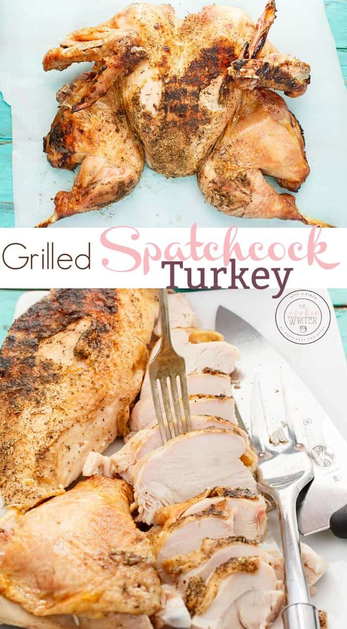 Grilled Spatchcock Turkey