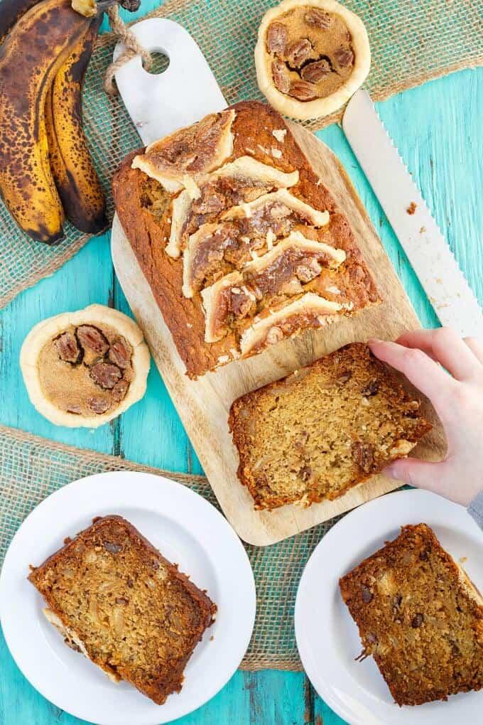 Homemade Butter Tart Banana Bread