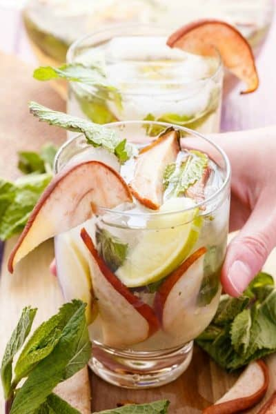 Roasted Pear Mojitos (Grill-Approved!)