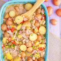 Baked Hawaiian Potato Casserole