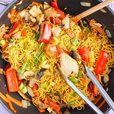 Leftover Turkey Stir Fry (Thanksgiving Leftovers)