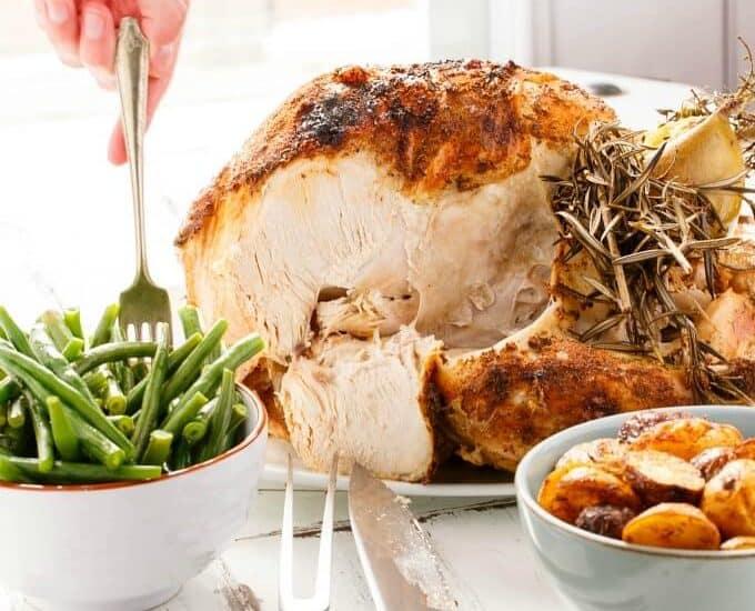 Slow Cooker Whole Turkey