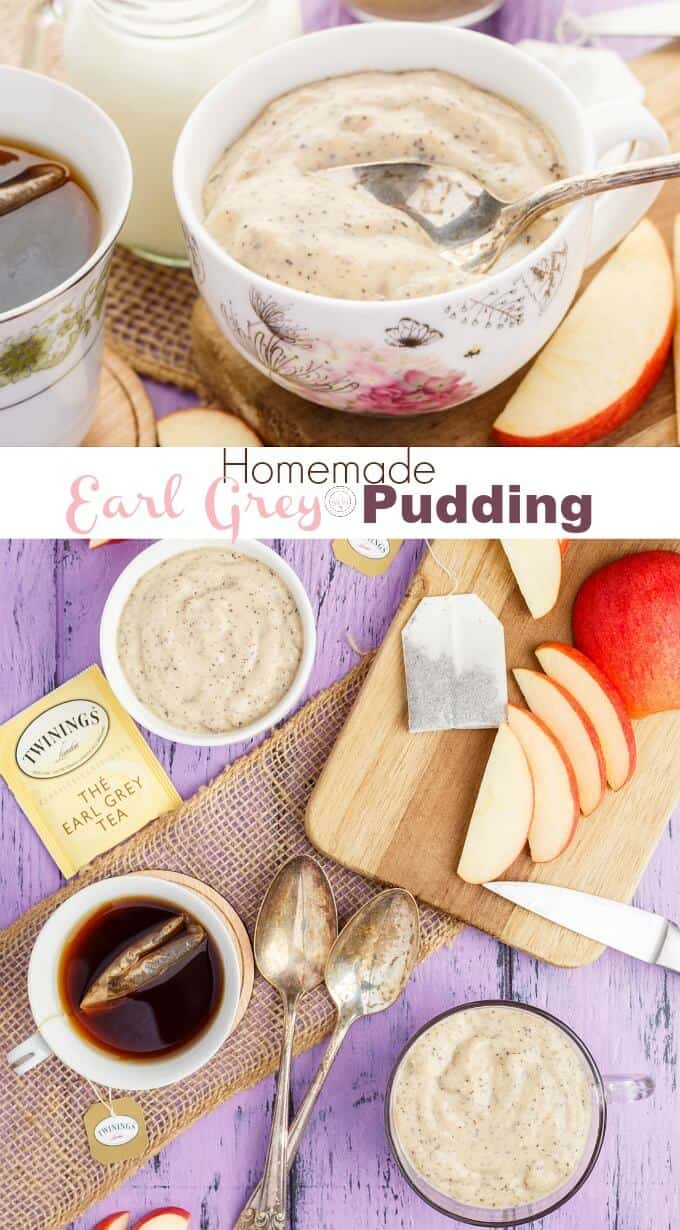 Homemade Earl Grey Pudding