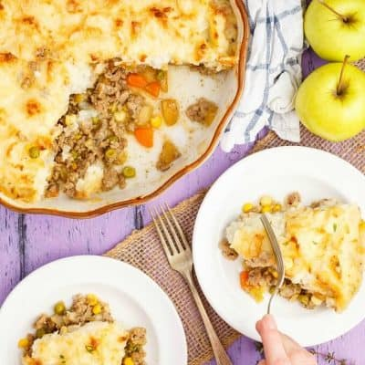 Apple-Pork Shepherd's Pie