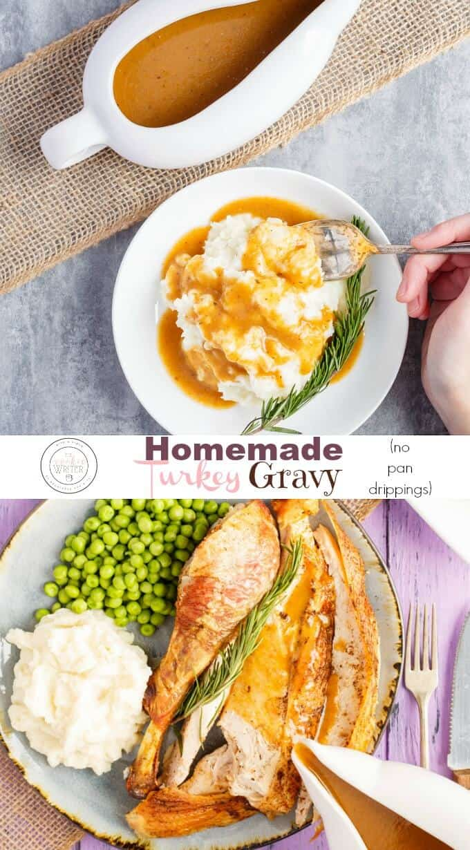 Homemade Turkey Gravy (using Neck)