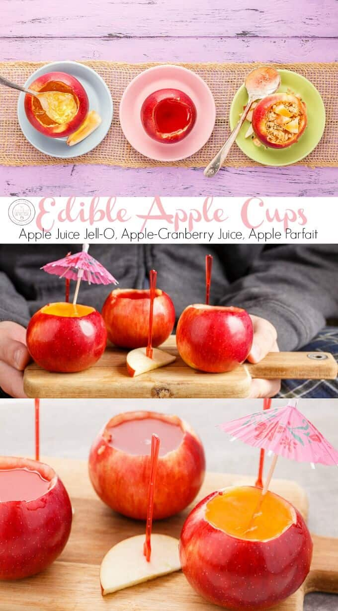 Edible Apple Cups (Perfect for Drinks, Desserts, & Breakfast!)