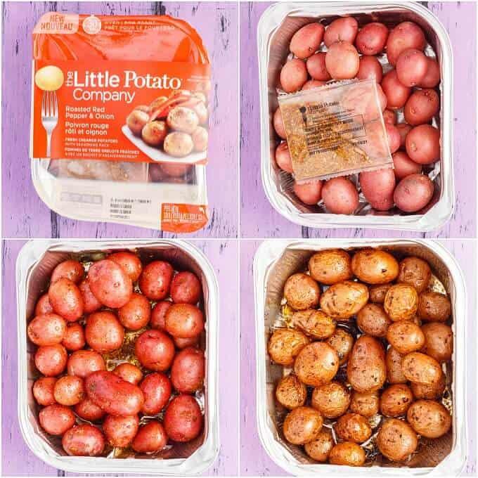 Roasted Beet Potato Salad