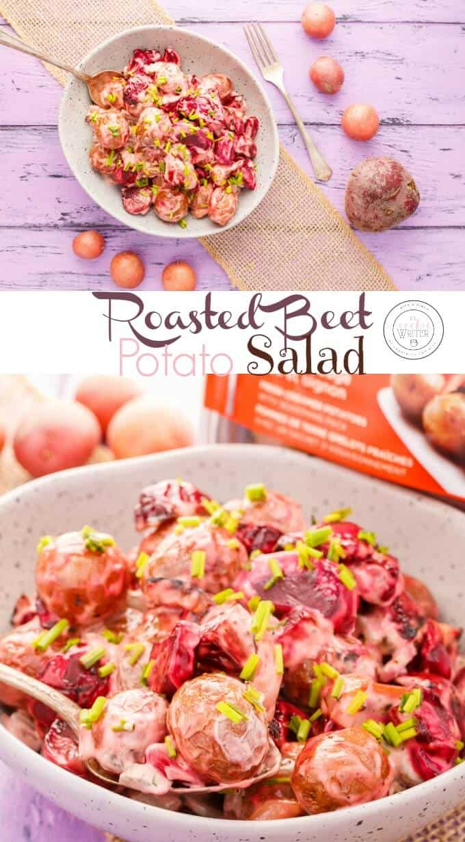 Roasted Beet Potato Salad